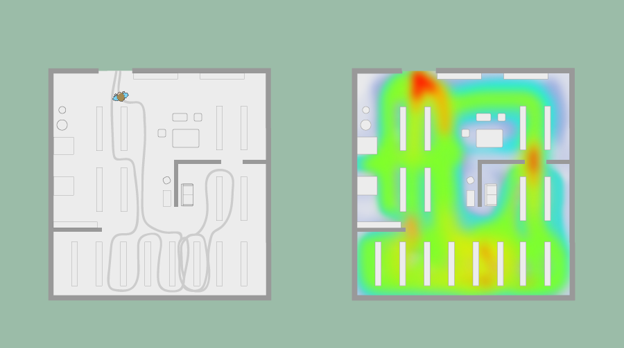 How Indoor Positioning Technology Can Create Job Site Heatmaps to Improve Health, Safety and Productivity in the Manufacturing Environment. This image was uploaded by ClockInstant at 11 Imam Haron Rd Claremont, Cape Town, 7708.